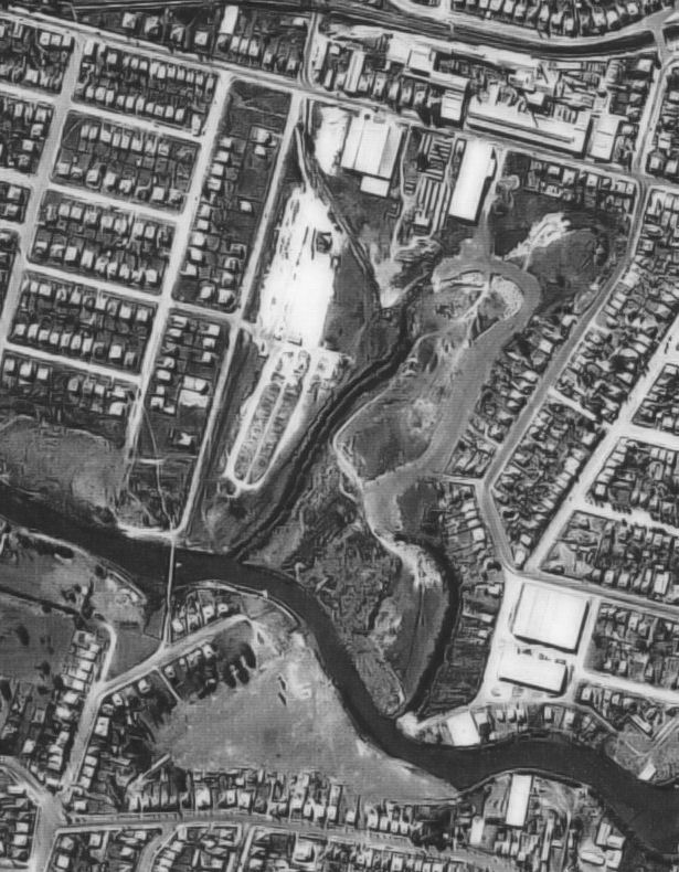The Road Running Diagonally Near Top Of The Photo Is Newmarket Rd The Buildings On Southern Side Of Newmarket Rd Was The Newmarket Us Naval