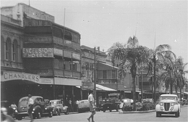 Excelsior Hotel Townsville Queensland During Ww2