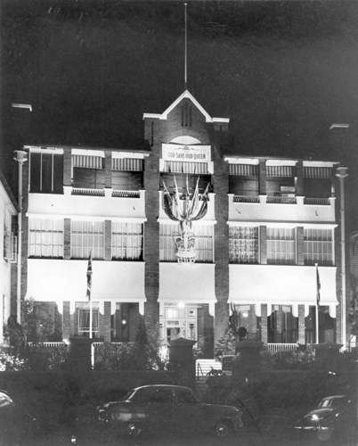 Montpelier later the united service club wickham for Queensland terrace state library