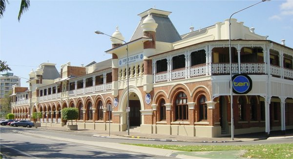 Queens Hotel On The Strand Townsville Used An American Officer S