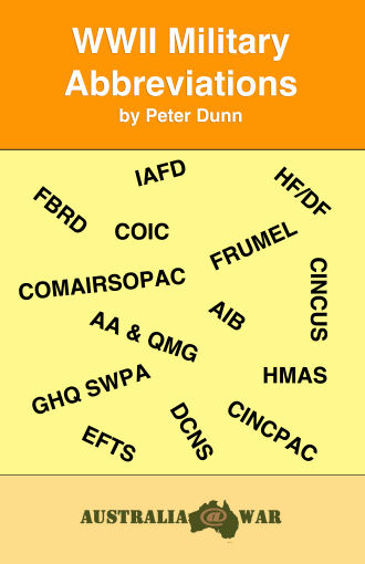 military abbreviations and terminology