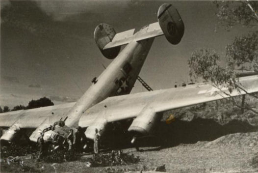 Also Crashed At Rocky During The War Were P40 Kittyhawk Beaufighter B17 Flying Fortress And A Spitfire Propeller Is Now In Calondra Museum