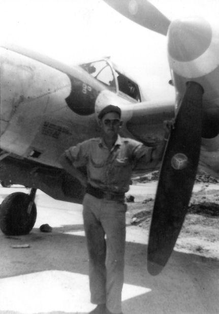 Photographs Of Al Coburn P 38 Pilot 475th Fighter Group