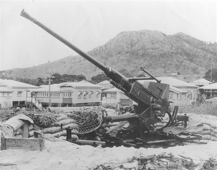 40 Mm Bofotrs Anti Aircraft Gun Used In Australia During WW2
